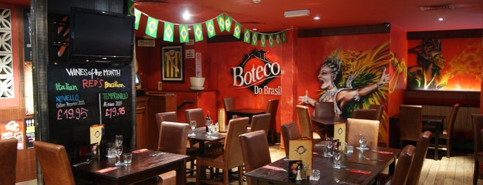 Boteco do Brasil is one of Glasgow places.