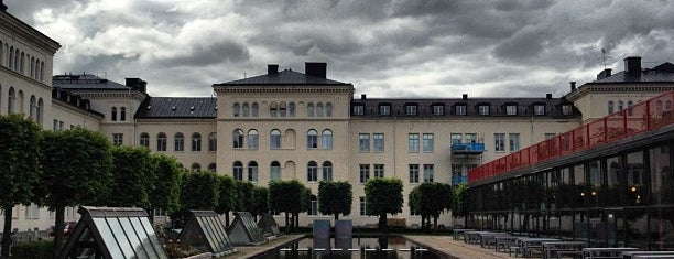 Garnisonen is one of Stockholm.