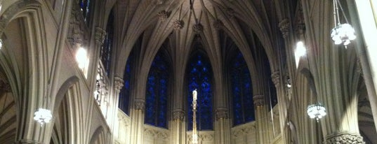 St. Patrick's Cathedral is one of NYC.