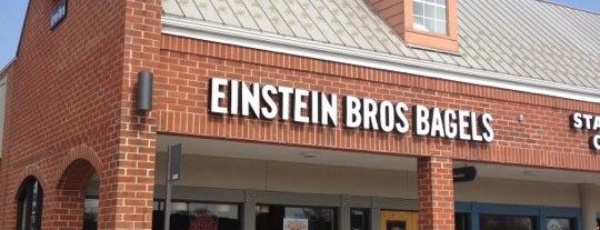 Caribou Coffee & Einstein Bros. Bagels is one of Christine 님이 좋아한 장소.
