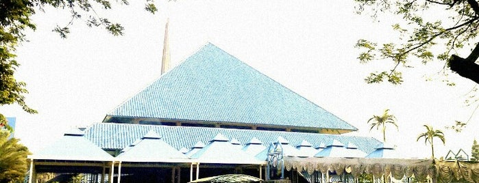 Masjid Raya Pondok Indah is one of Jakarta. Indonesia.