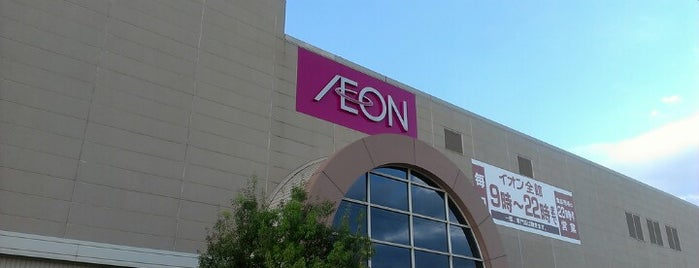 AEON is one of REFLEC BEAT colette設置店舗@北陸三県.