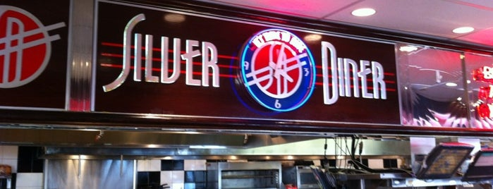 Silver Diner is one of My Favorites in Northern Virginia Area.