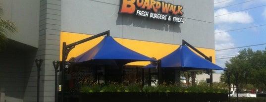Boardwalk Fresh Burgers & Fries is one of Dining in Orlando, Florida.