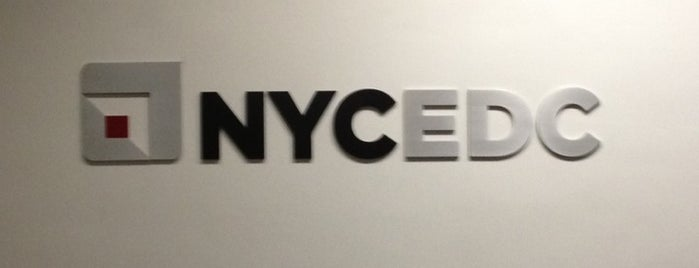 NYCEDC is one of Silicon Alley, NYC (List #3).