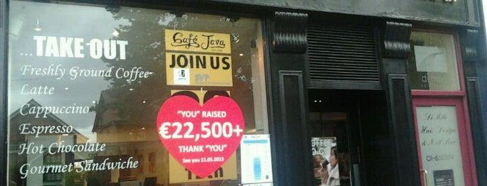 Café Java is one of Free wifi.