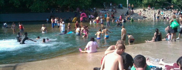 Barton Springs Spillway is one of Favorites.
