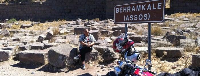 Behramkale is one of Bizzat gezip,gördüm :).