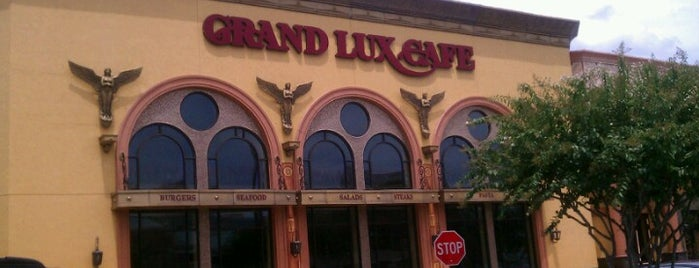 Grand Lux Cafe is one of Best places to go in Houston.