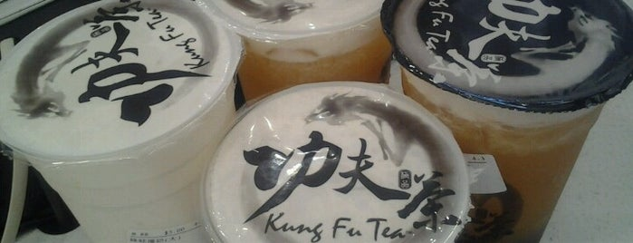 Kung Fu Tea (功夫茶) is one of Lieux qui ont plu à Karen.