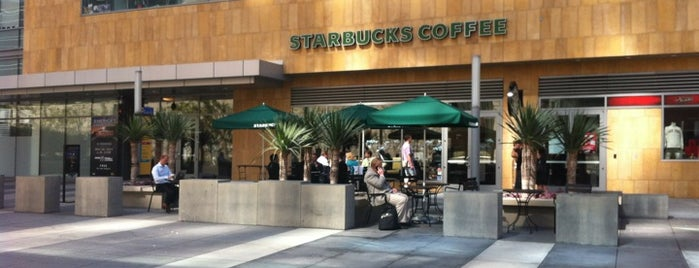 Starbucks is one of Los Angeles.