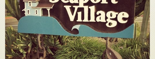 Seaport Village is one of San Diego.