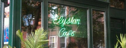 Elysian Cafe is one of Other skin on the face if acne is caused by stesd.