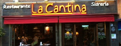 La Cantina is one of Tapas.