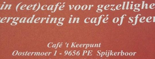t' Keerpunt is one of Misset Horeca Café Top 100 2013.