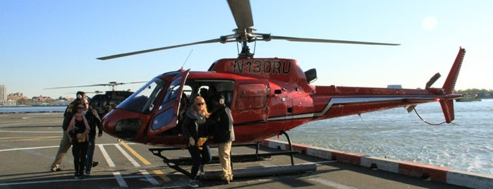 New York Helicopter Tours is one of Want to Try.