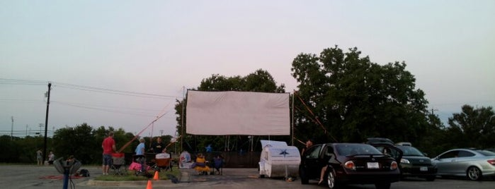Blue Starlite Mini Urban Drive-In is one of Austin Entertainment.