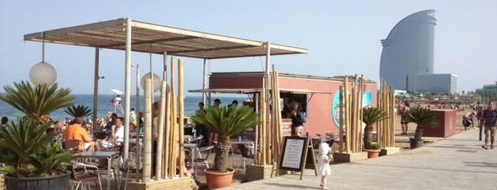 El Chiringuito del Mar is one of chiringuitos playa barcelona.