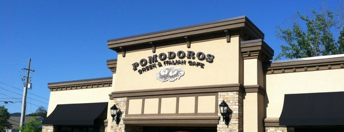 Pomodoros Cafe is one of Favorite places.