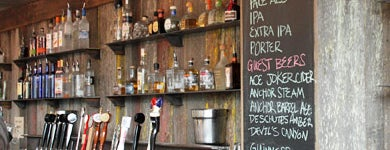 Southern Pacific Brewing is one of Top 100 Bay Area Bars (According to the SF Chron).