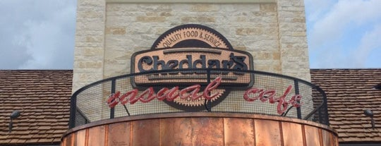 Cheddar's Casual Cafe is one of Places to try.