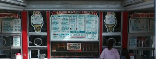 Magnifico's Ice Cream is one of Tempat yang Disukai Ryan.