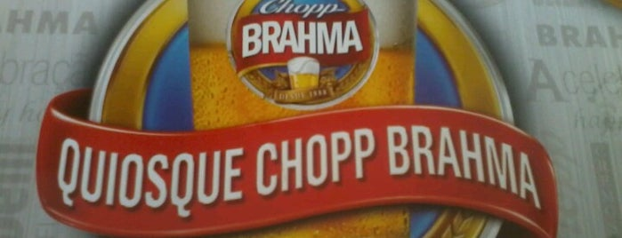 Quiosque Chopp Brahma is one of Bars & Pubs in Campinas.