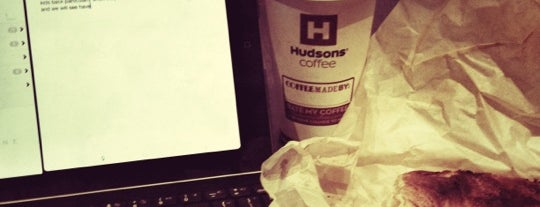 Hudsons Coffee is one of Michelle 님이 저장한 장소.