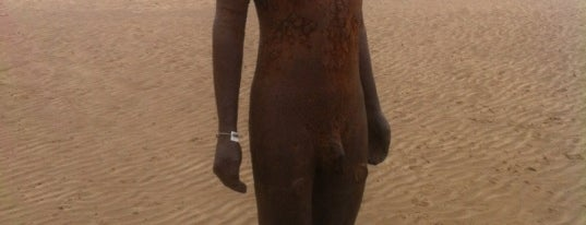 Antony Gormley's Another Place is one of uk.