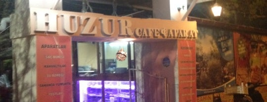 Huzur Cafe is one of Orte, die Uğur gefallen.