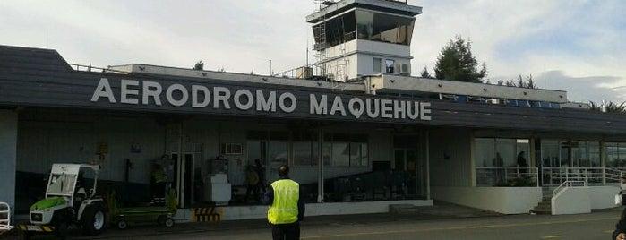 Aeródromo Maquehue is one of Orte, die LAN gefallen.