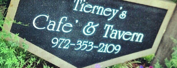 Tierney's Cafe & Tavern is one of Tempat yang Disukai Dustin.