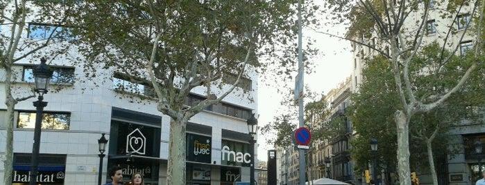 Plaza de Cataluña is one of Barcelona City Guide.