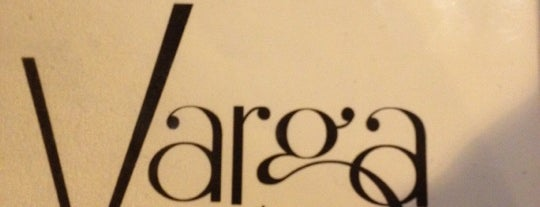 Varga Bar is one of Foobooz Best 50 Bars in Philadelphia 2012.