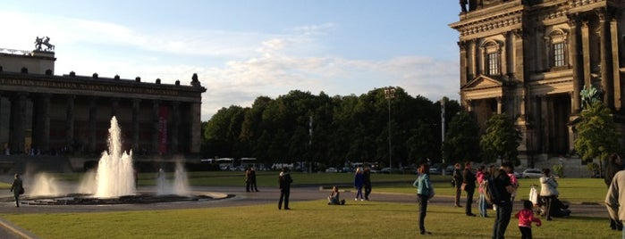 Lustgarten is one of Parks - Berlin's green oases.