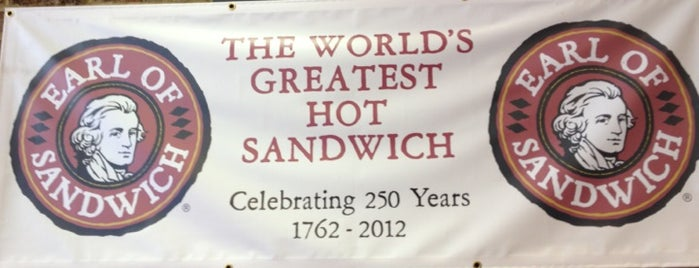 Earl of Sandwich is one of Favorite Food.