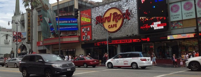 Hard Rock Cafe Hollywood on Hollywood Blvd is one of Los Angeles Essentials.