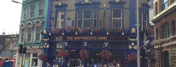 The Shipwrights Arms is one of Stuff I want to see and redo in London.