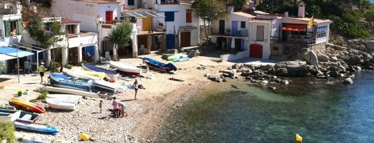 Cala de s'Alguer is one of Playas de España: Cataluña.