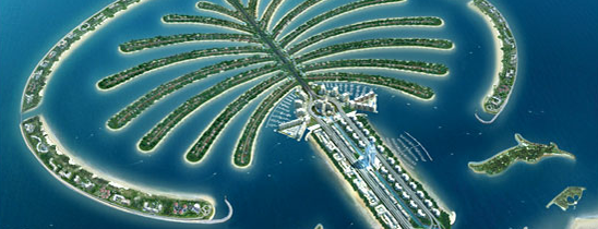 Palm Jumeirah is one of wonders of the world.