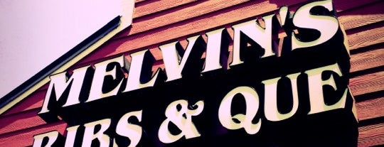 Melvin's Legendary Bar-B-Q is one of Dannyさんのお気に入りスポット.
