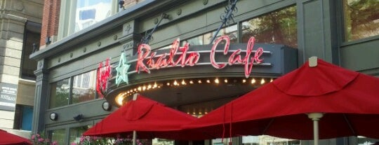 Rialto Café is one of USA - BAR.
