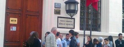 T.C. Ziraat Bankası is one of Yasemin Arzu 님이 저장한 장소.