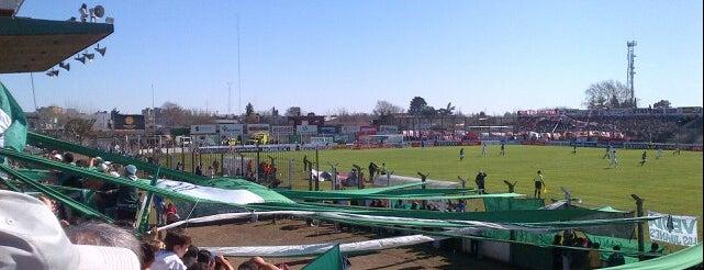 Estadio Eva Perón (Club Atlético Sarmiento) is one of Clubes de Primera División.