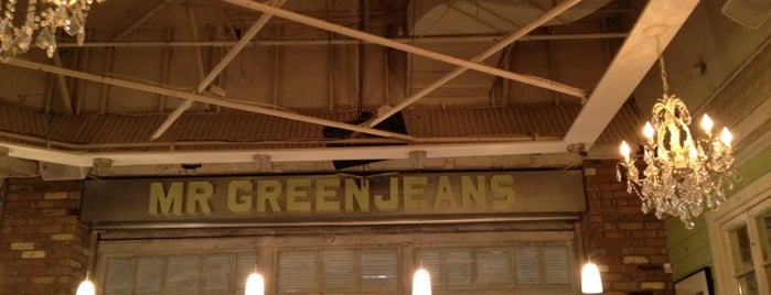 Mr Green Jeans is one of Toronto Restaurants & Nightlife.