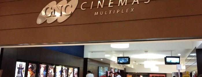 GNC Cinemas is one of Orte, die Daniel gefallen.