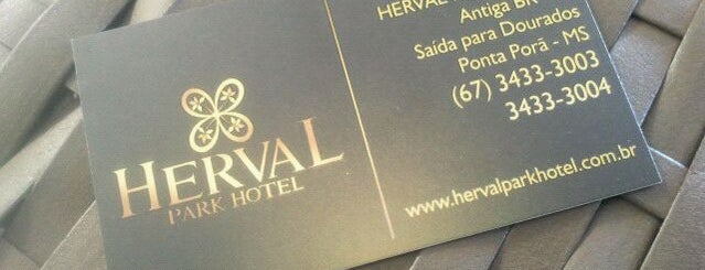 Herval Park Hotel is one of Locais curtidos por Isabella.