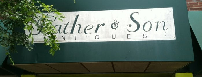 Father & Son Antiques is one of RDU Baton - Raleigh Favorites.