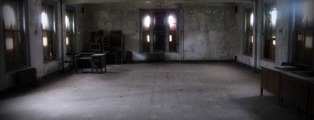 Ellis Island is one of Abandoned NYC.