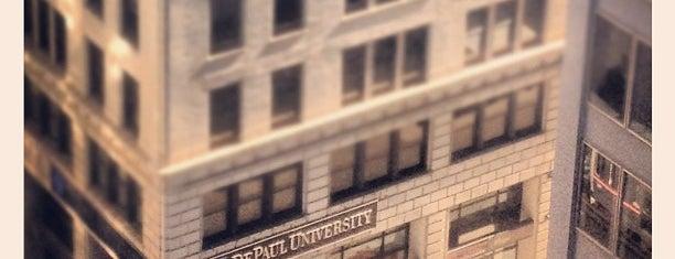 DePaul University Lewis Center is one of Loop Campus History.